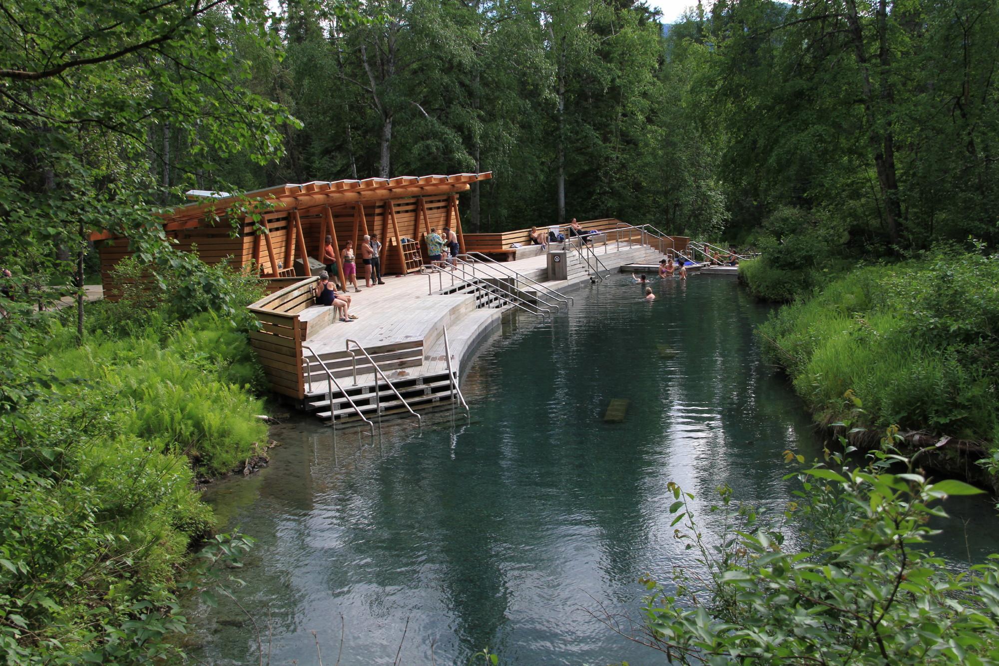 Liard River Hotsprings Provincial Park Access Bc